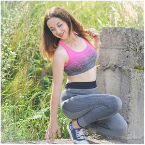 Gradient High Stretch Sports Bra