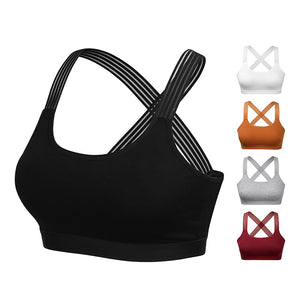 Cross Back Workout Sports Bra