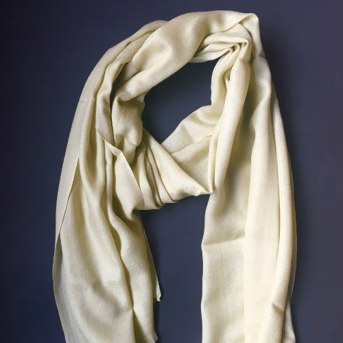 Merino Wool/Silk Mix Scarves - 6 colours