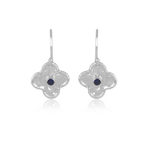 sahara sterling silver earrings