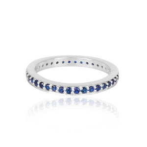 Eternity Stacking Rings - 3 colours