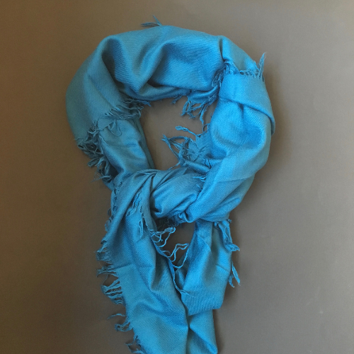 Square Scarf with Tassels - 6 colours