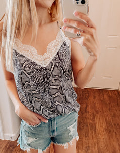 Wild Lace Top