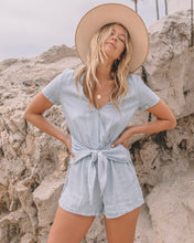 Load image into Gallery viewer, Everly Tie Romper