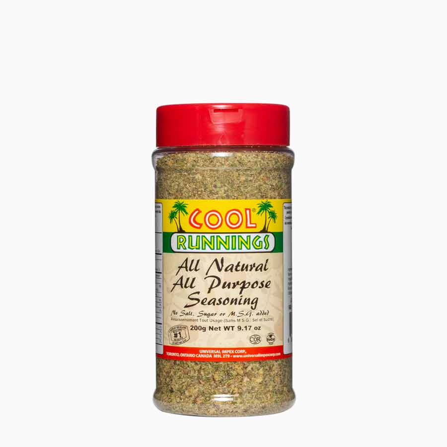 Cool Runnings all natural all purpose seasoning