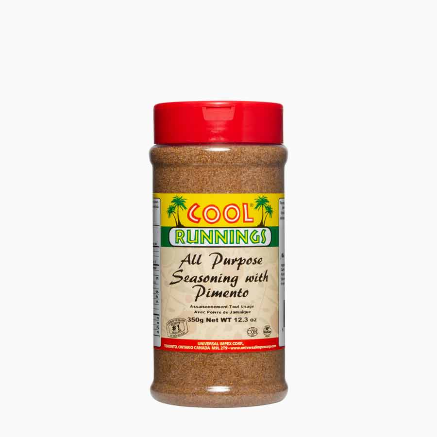 Cool Runnings all purpose seasoning with pimento