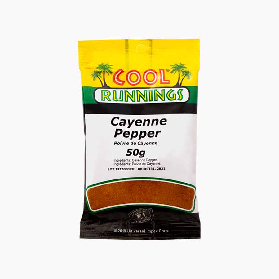 Cool Runnings cayenne pepper