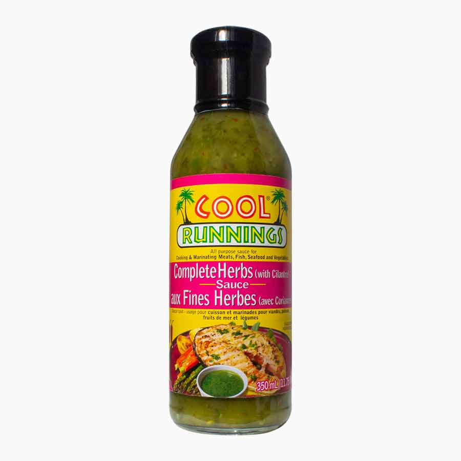 Cool Runnings complete herbs sauce
