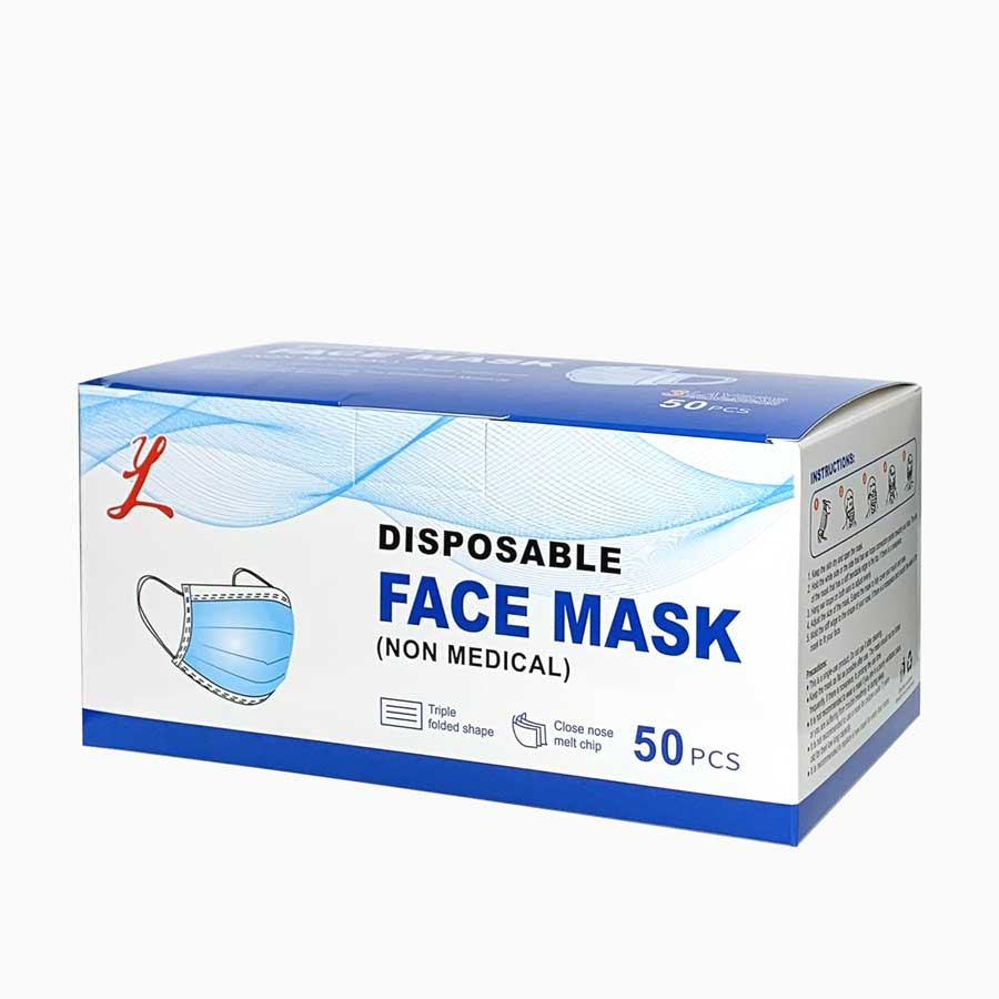 Disposable Face Mask (50 pcs)