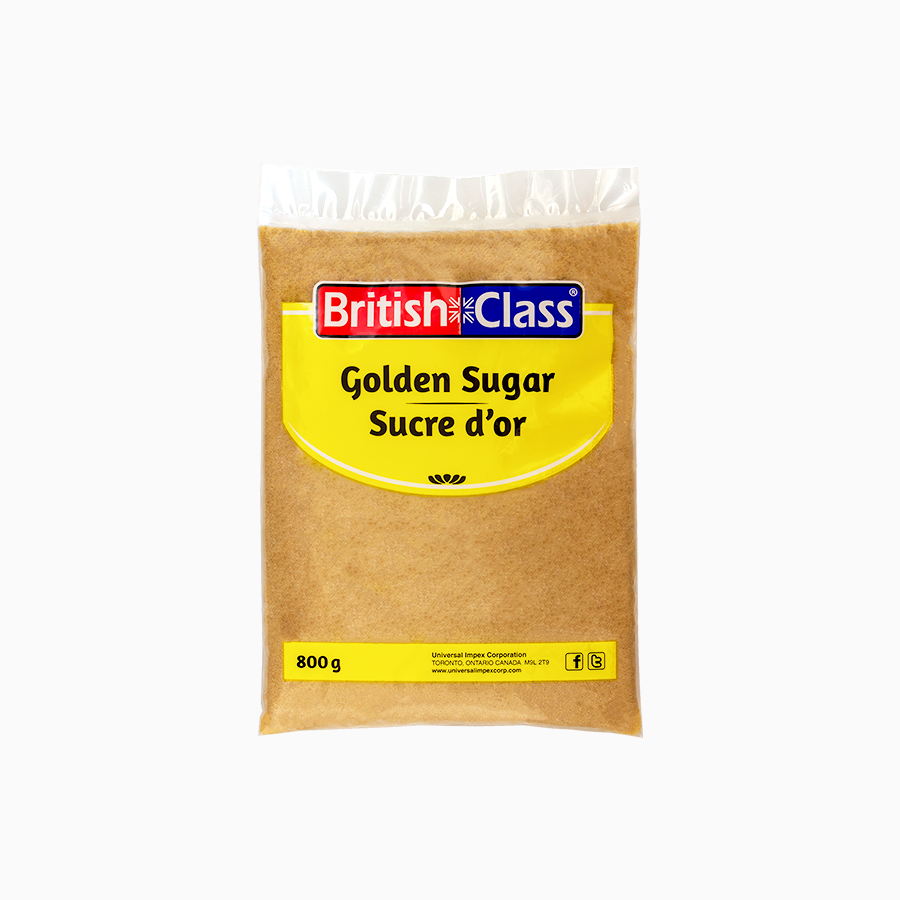 British Class golden sugar