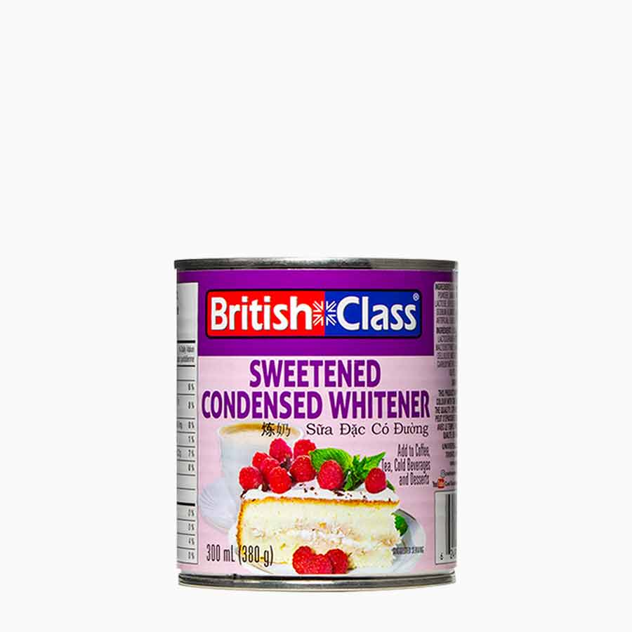 British Class Sweetened Condensed Whitener