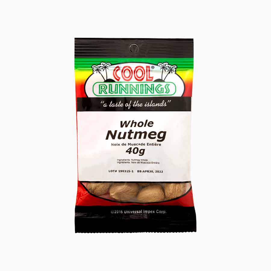 Cool Runnings whole nutmeg