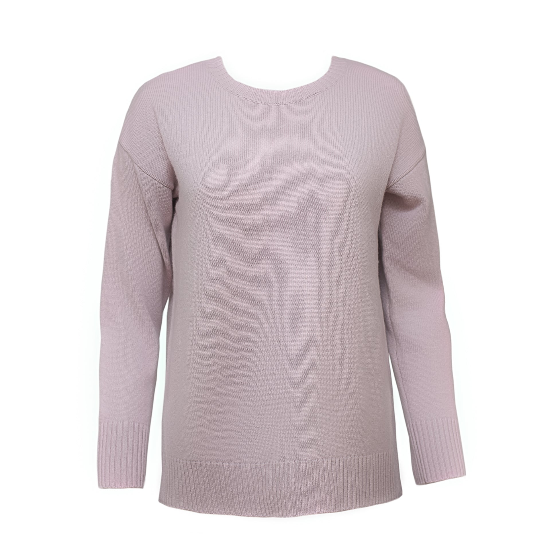 The Diana Cashmere sweater in lavender blush