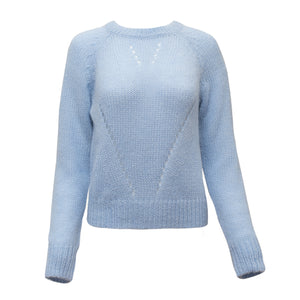 The Katey sweater in Ice