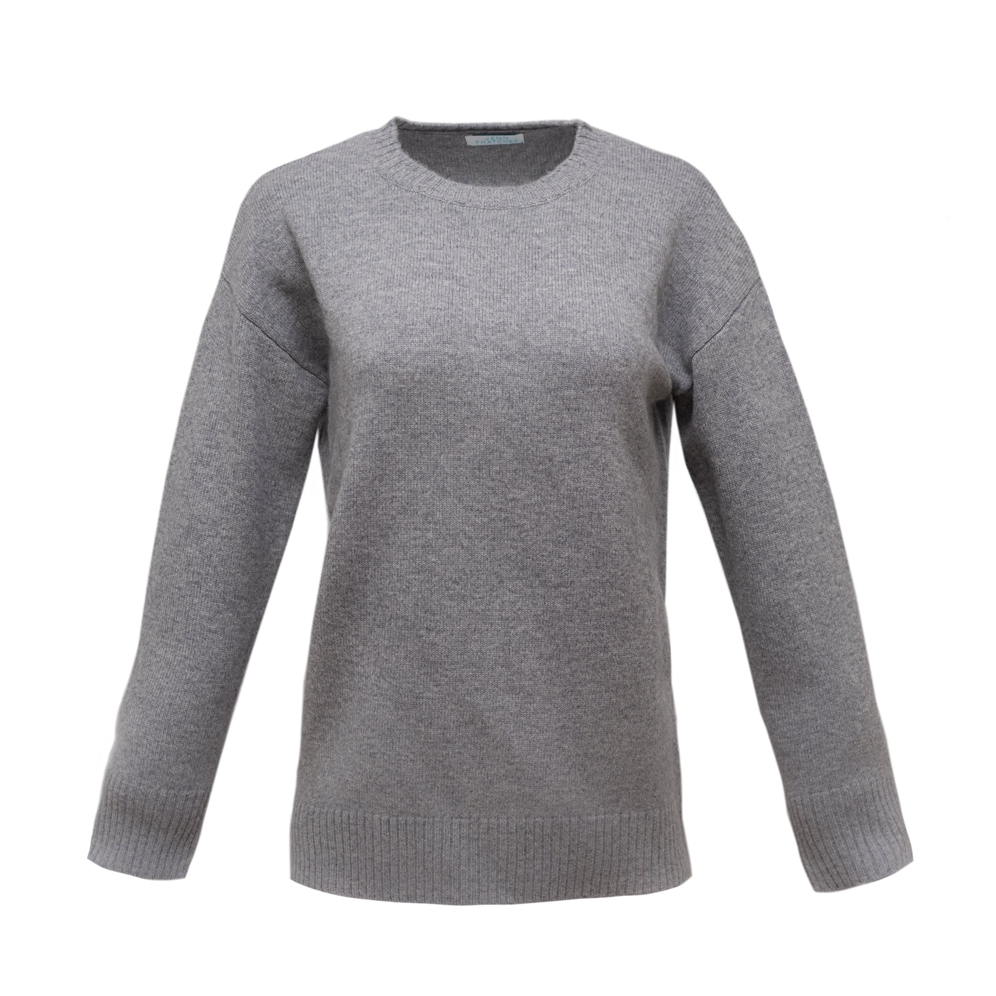 The Diana Cashmere Sweater in Grey