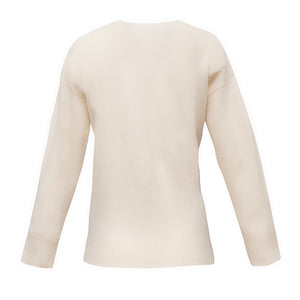 The Diana Cashmere sweater in Winter White