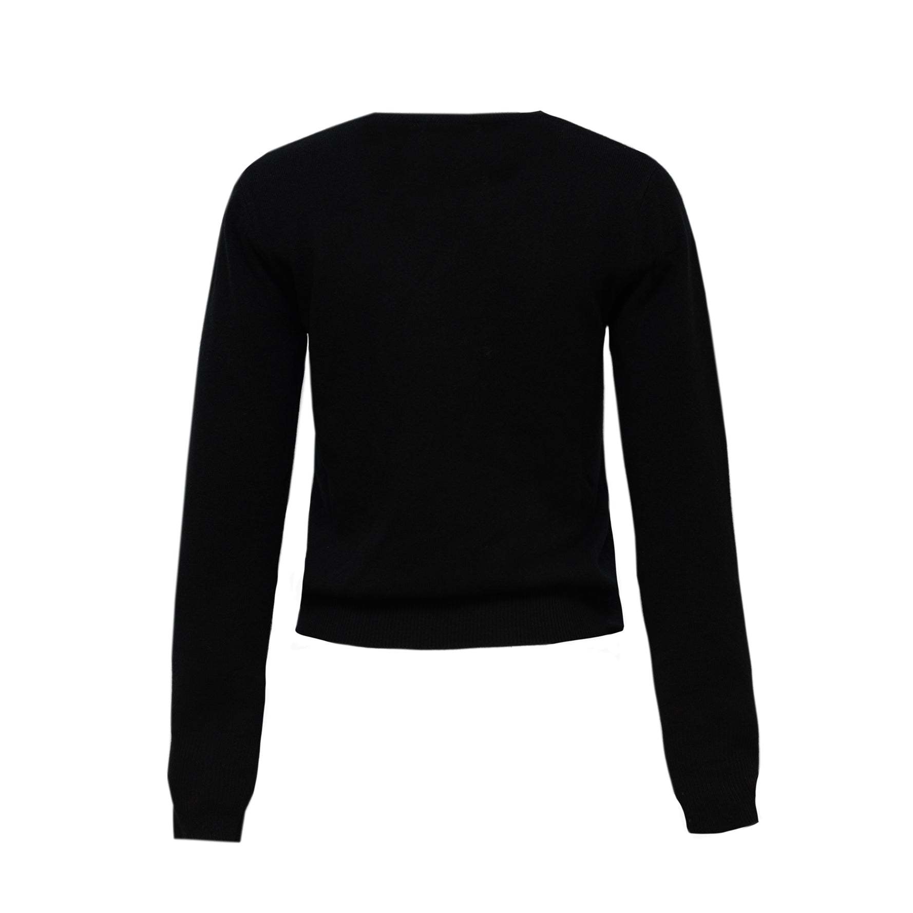The Lane Cashmere sweater in Black