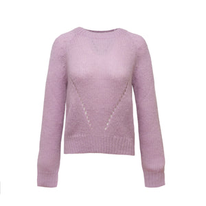 The Katey Sweater in Lavender
