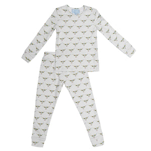 Organic Cotton Longhorn Jammies