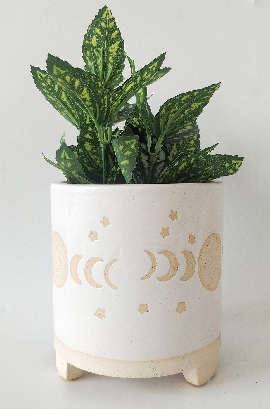 Elemental Planter- White