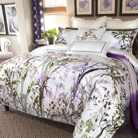 Chantilly Pure Cotton Sateen Duvet Cover Set