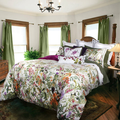 Urban Garden Cotton Sateen Duvet Cover Set