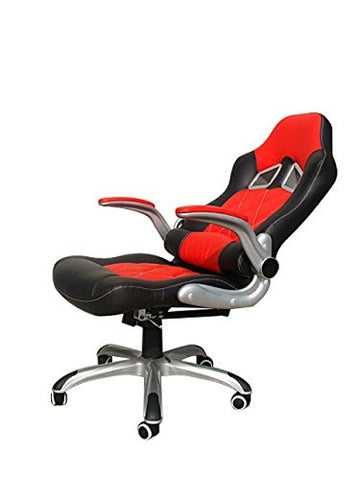 racing car seat style computer reclining desk chair daal 39 s home. Black Bedroom Furniture Sets. Home Design Ideas