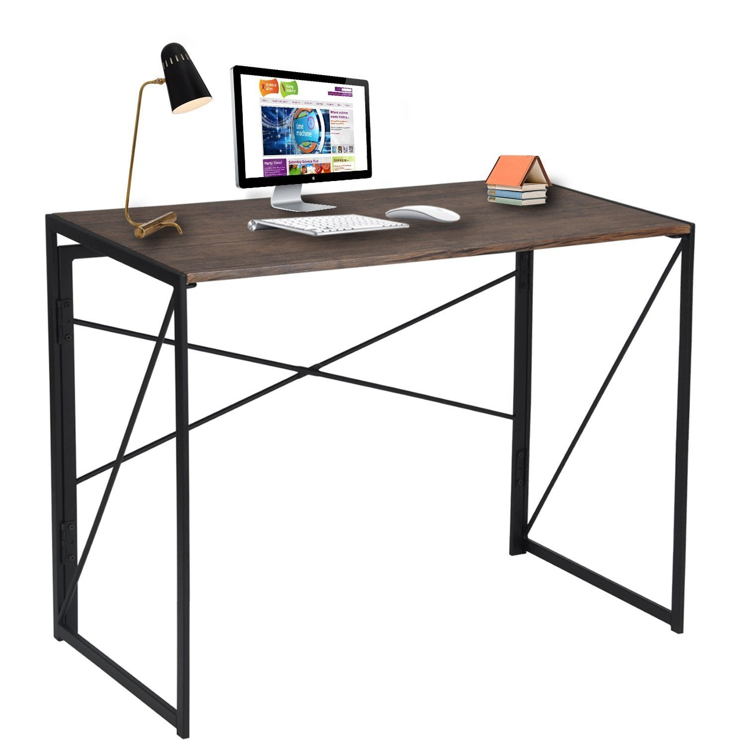 Folding Table Coavas Wooden PC Foldable Study Laptop Desk – daal s