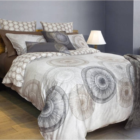 Asana Floral Cotton Sateen Duvet Cover Set