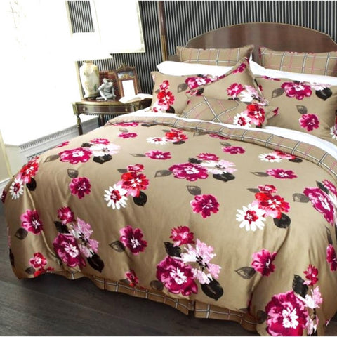 Flamenco Cotton Sateen Duvet Cover Set