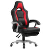 CTF Racing Sport Reclining High Back Swivel Chair with Foot Stool MR33