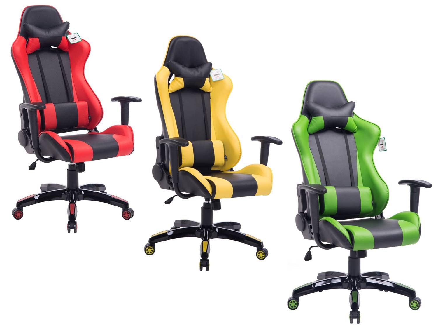CTF PRO Racing Gaming Metal Frame High Back Swivel Office Chair MO45