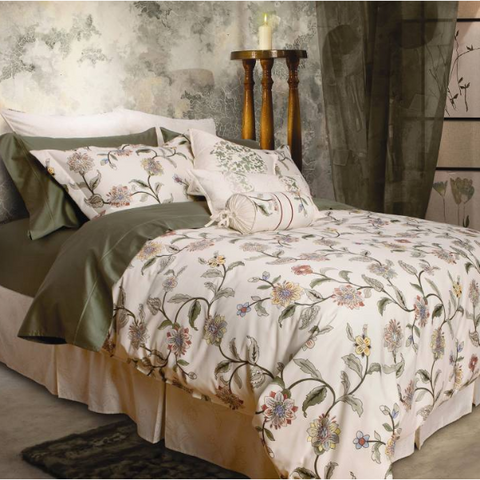 Mandalay Bamboo Cotton Sateen Duvet Cover Set