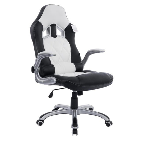 Racing Car Seat Style Computer Reclining Office Desk Chair with Adjustable Armrests in 2 Colours