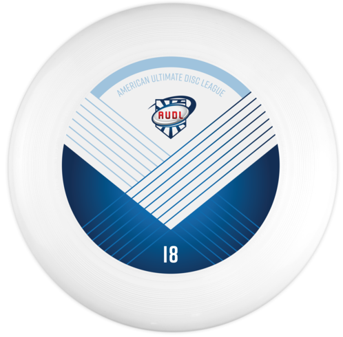 Official 2018 AUDL Disc