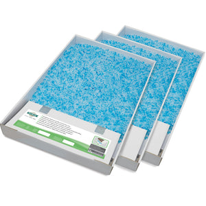 ScoopFree® Replacement Blue Crystal Litter Tray (3-Pack)