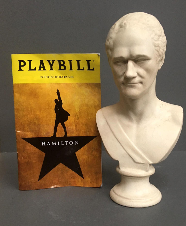 Reflections on Hamilton {Plus win a bust!}