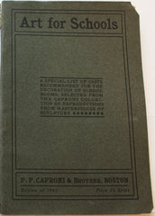 scan of Caproni catalog cover, a gray color with black borders and text