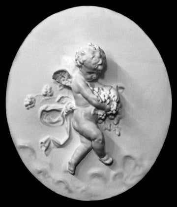 Cupid Flying, Bearing Grapes - Item #85