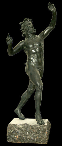 Pompeiian Dancing Satyr (reduction) - Item #224