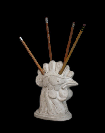 Rooster Pencil Holder - Item #678