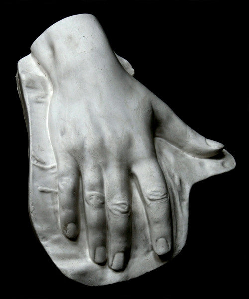 Male Hand, On Panel From Nature - Item #805
