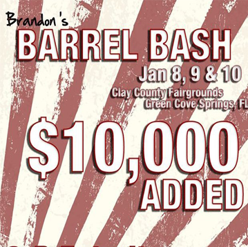 Order Videos from Jan 8-10, 2021 Brandons Barrel Bash 10K - Green Coves Springs FL - Clay County fairgrounds
