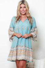 Load image into Gallery viewer, Naya Tunic Mini Dress