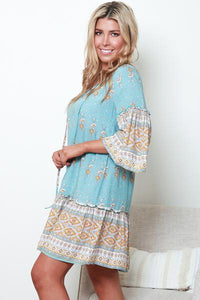Naya Tunic Mini Dress