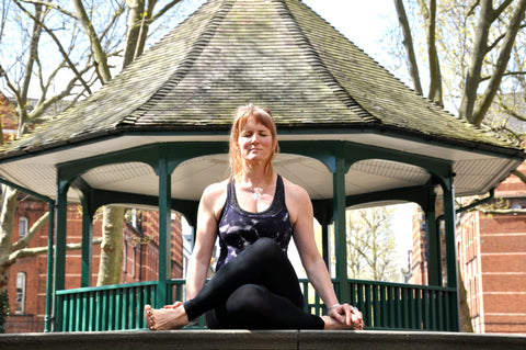 Marj, Founder of Tigerlily. Bespoke yoga and mindfulness classes.