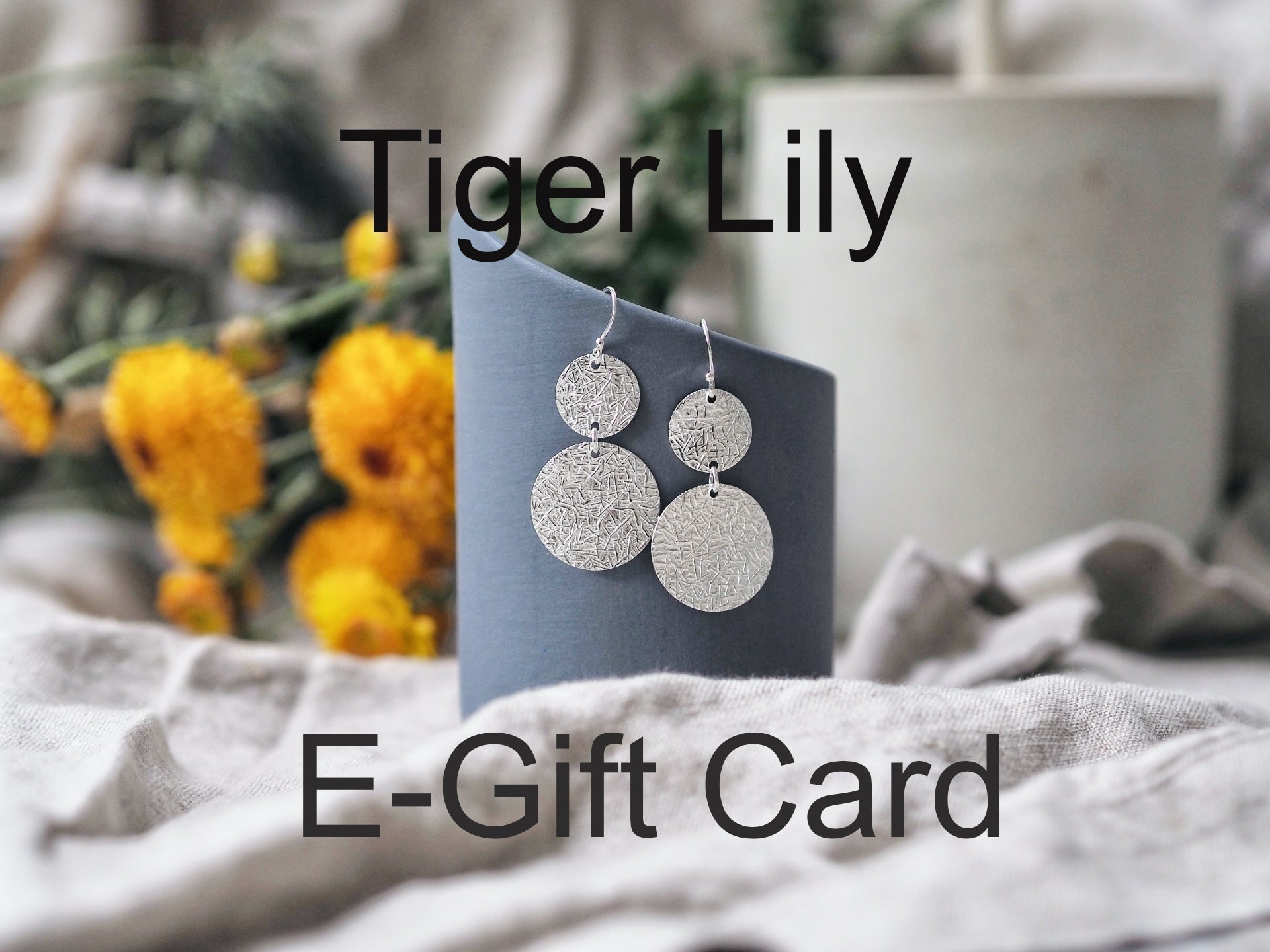 Tiger Lily Gift Card