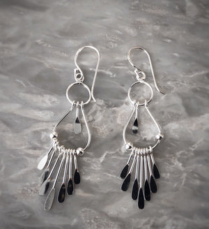 Sterling Silver Native American Style Earrings Tiger Lily London