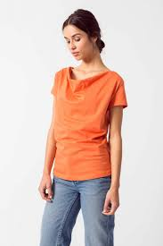 Orange Organic Cotton Short Sleeve T-Shirt