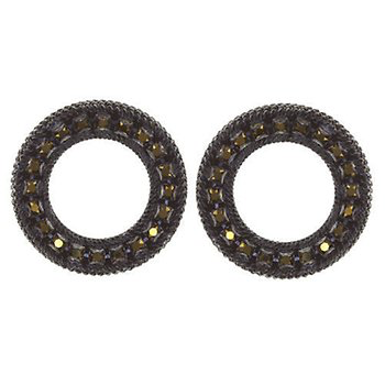 Konplott Rock n Glam Earring Studs Black